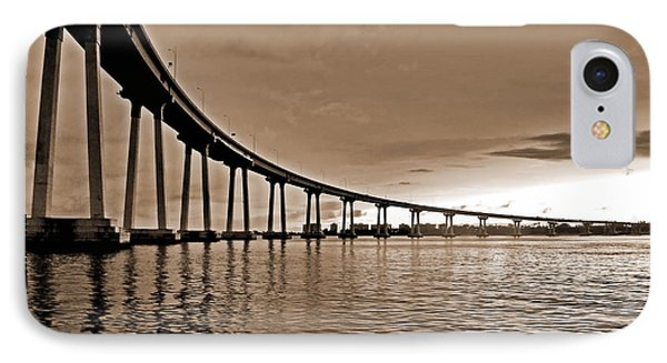 Coronado Bay Bridge IPhone Case by Russ Harris