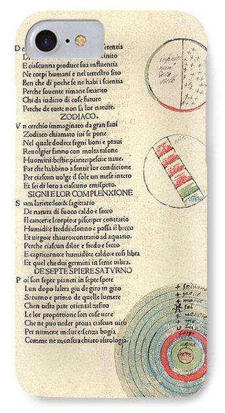 Cosmographic Poem IPhone Case