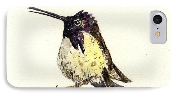 Costa S Hummingbird IPhone 7 Case