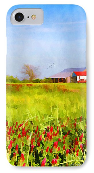 Country Kind Of Spring Phone Case by Darren Fisher