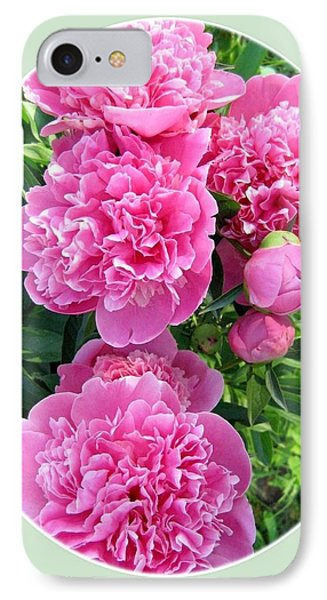 Country Peonies IPhone Case by Will Borden