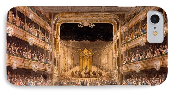 Covent Garden Theater IPhone Case by Pugin and Rowlandson
