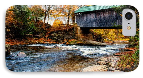 IPhone Case featuring the photograph Covered Bridge by Bill Howard
