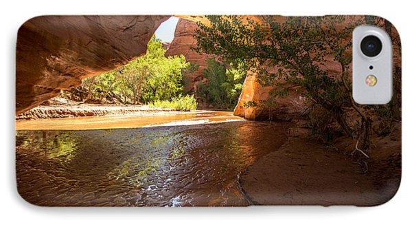 Coyote Natural Bridge - Coyote Gulch - Utah IPhone Case