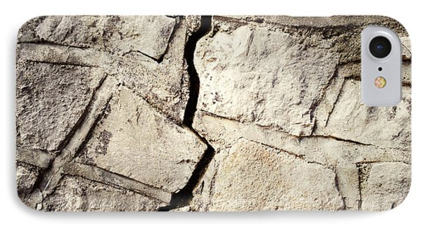 Cracked Wall Phone Case by Les Cunliffe