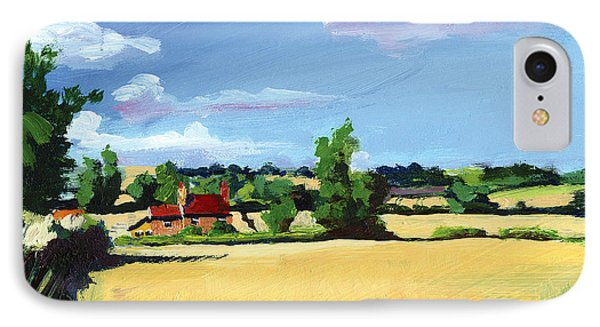 Crayke Farm North Yorkshire Phone Case by Neil McBride