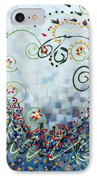 Crazy Love Jazz IPhone Case by Holly Carmichael