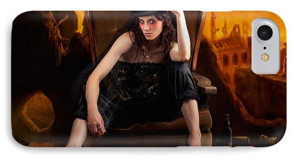 Creative Underground Fashion Photo Illustration IPhone Case