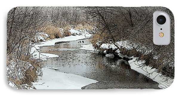 IPhone Case featuring the photograph Creek by Debbie Hart