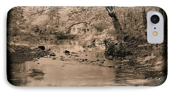 Creek IPhone Case by John Krakora