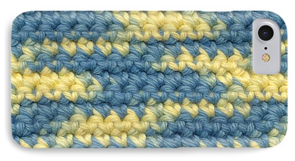 Crochet Made With Variegated Yarn Phone Case by Kerstin Ivarsson