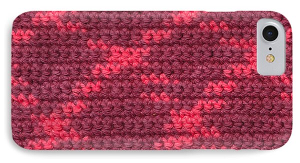 Crochet With Variegated Yarn Phone Case by Kerstin Ivarsson