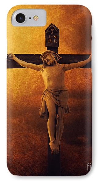 Crucifixcion IPhone Case by Jelena Jovanovic