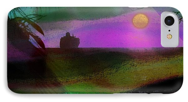 IPhone Case featuring the photograph Cruise Into The Sunset by Athala Carole Bruckner