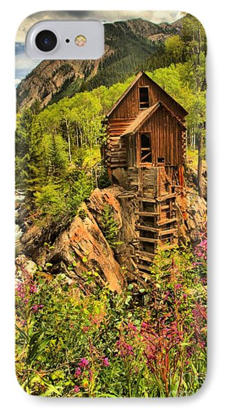 Crystal Mill Wildflowers Phone Case by Adam Jewell