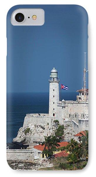 Cuba, Havana, Castillo De Los Tres IPhone Case