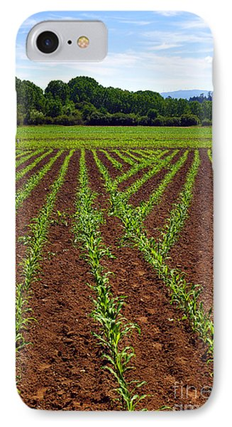 Cultivated Land Phone Case by Carlos Caetano