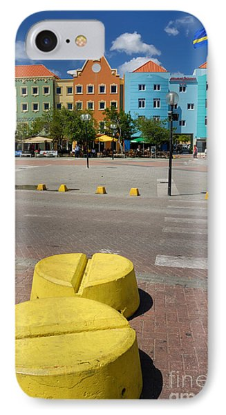 Curacaos Colorful Architecture Phone Case by Amy Cicconi