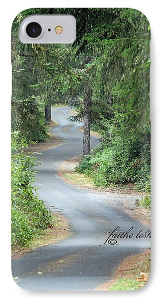 Curves Into Leadbetter Point State Park II IPhone Case