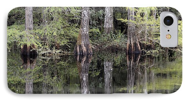 Cypress Reflections IPhone Case