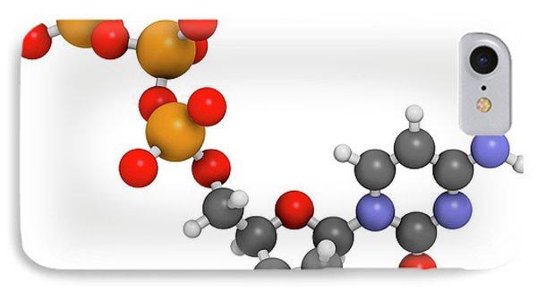 Cytidine Triphosphate Molecule IPhone Case by Molekuul