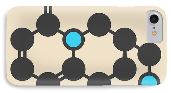 Cytisine Smoking Cessation Drug Molecule IPhone Case