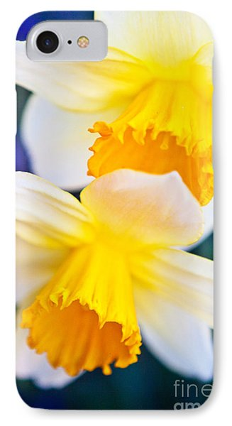 IPhone Case featuring the photograph Daffodils by Roselynne Broussard