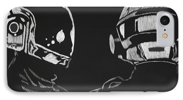 Daft Punk IPhone Case