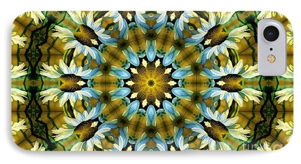 Kaleidoscope Daisy Mae IPhone Case by Julia Hassett