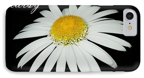 Daisy IPhone Case by MaryJane Armstrong