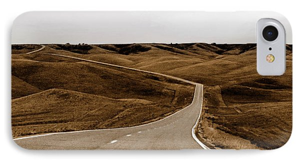IPhone Case featuring the photograph Dakota Highway 1804 by Thomas Bomstad