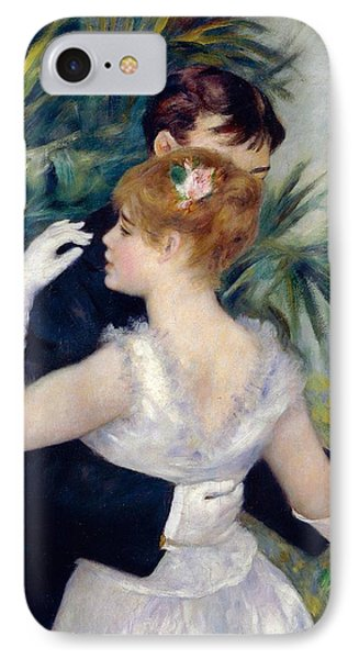 Dance In The City IPhone Case by Pierre-Auguste Renoir