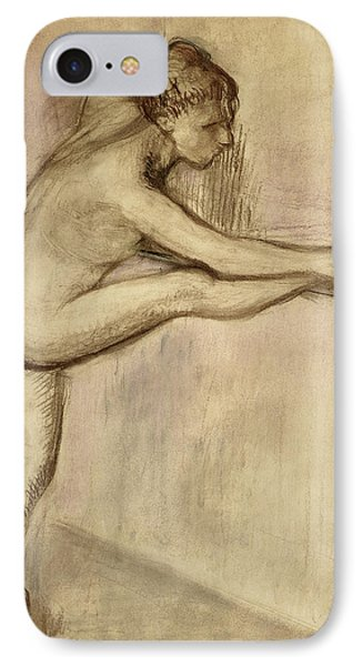 Dancer At The Bar IPhone Case by Edgar Degas