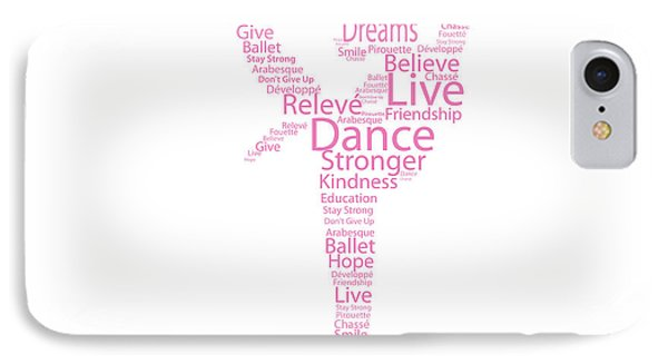 Dancer Live, Dance, Dream IPhone Case by Kike Calvo