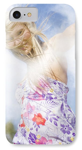 Dancing Dream Girl IPhone Case by Jorgo Photography - Wall Art Gallery