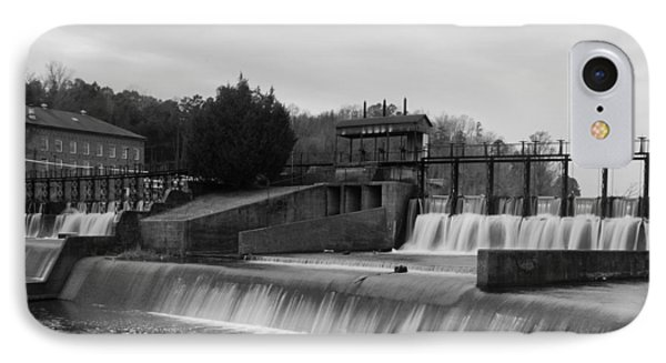 Daniel Pratt Cotton Mill Dam Prattville Alabama IPhone Case