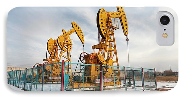 Daqing Oil Field IPhone Case by Ashley Cooper