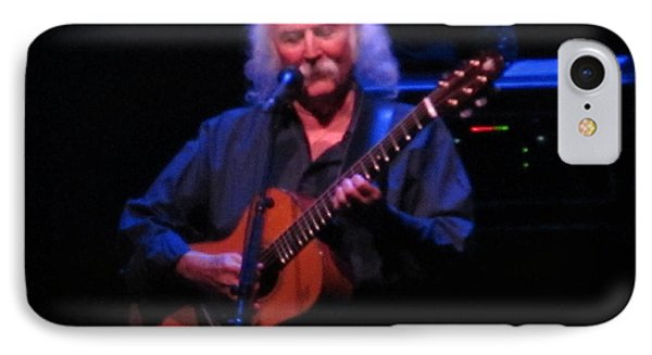 David Crosby IPhone Case by Melinda Saminski