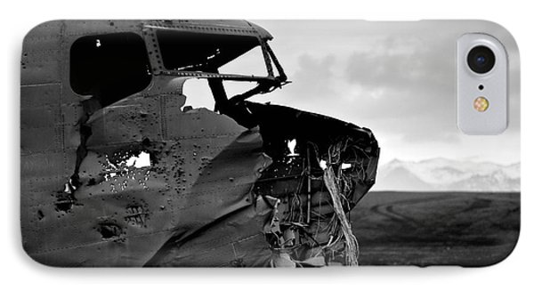 Dc 3 Iceland IPhone Case by Gunnar Orn Arnason
