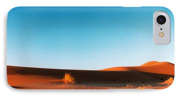 Desert At Sunrise, Sahara Desert IPhone Case