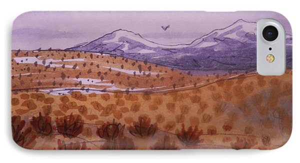 Desert Contrasts IPhone Case by Suzanne McKay