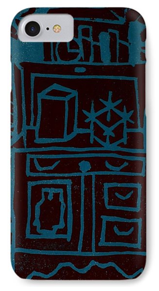 Desk IPhone Case by Erika Chamberlin