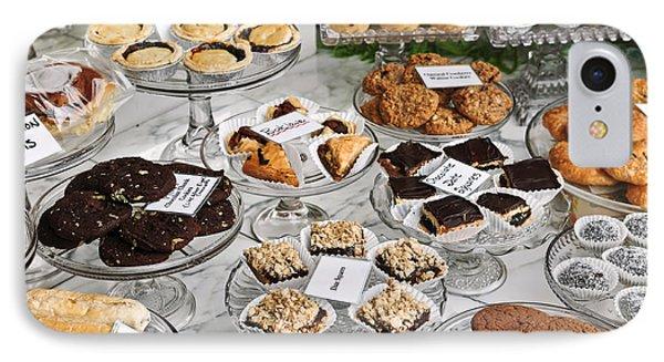 Desserts In Bakery Window Phone Case by Elena Elisseeva