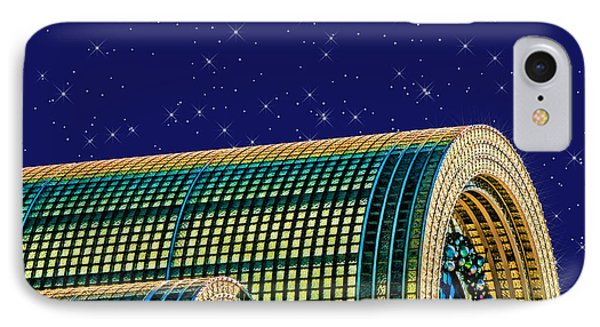 Destination By Night Phone Case by Wendy J St Christopher