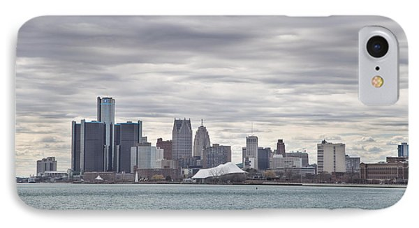 Detroit Skyline From Belle Isle IPhone Case by John McGraw