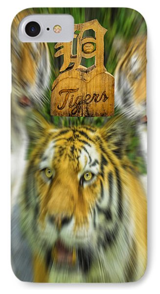 Detroit Tigers Baseball IPhone Case by LeeAnn McLaneGoetz McLaneGoetzStudioLLCcom