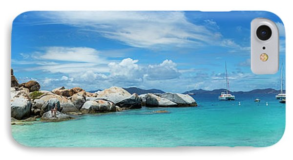 Devils Bay And Beach At The Baths IPhone Case by Panoramic Images