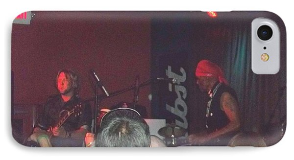 Devon Allman And Cyril Neville IPhone Case by Kelly Awad