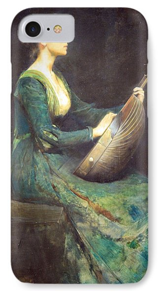 Dewing's Lady With A Lute Phone Case by Cora Wandel