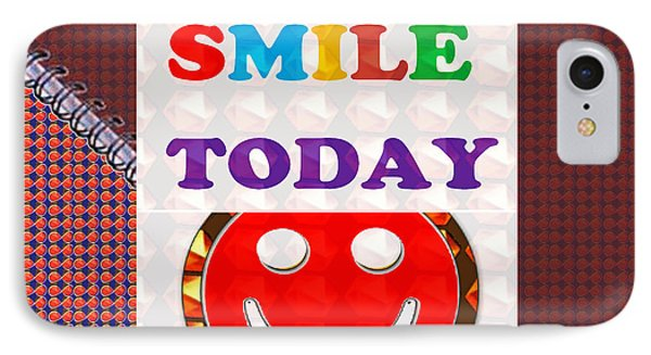 Did You Smile Today Background Designs  And Color Tones N Color Shades Available For Download Rights IPhone Case by Navin Joshi